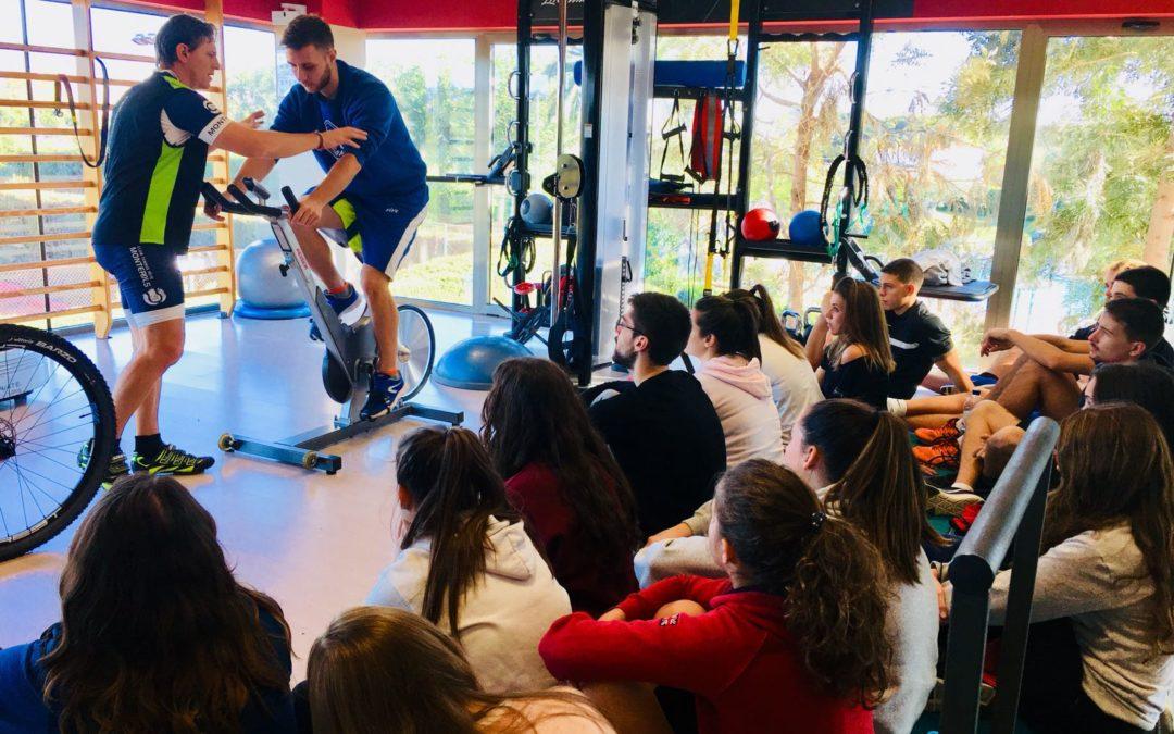Jornada de pràctiques dels alumnes de fisioteràpia de la Rovira i Virgili