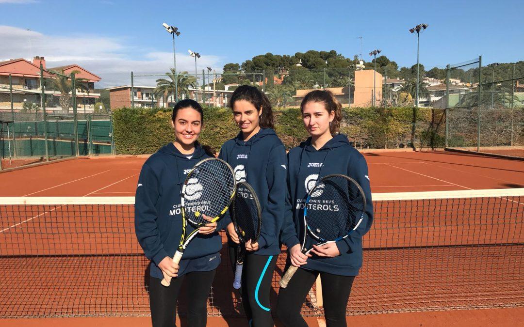 El Júnior Femení s'emporta la victòria a casa del Tennis Tarragona en la Lliga Catalana de tennis