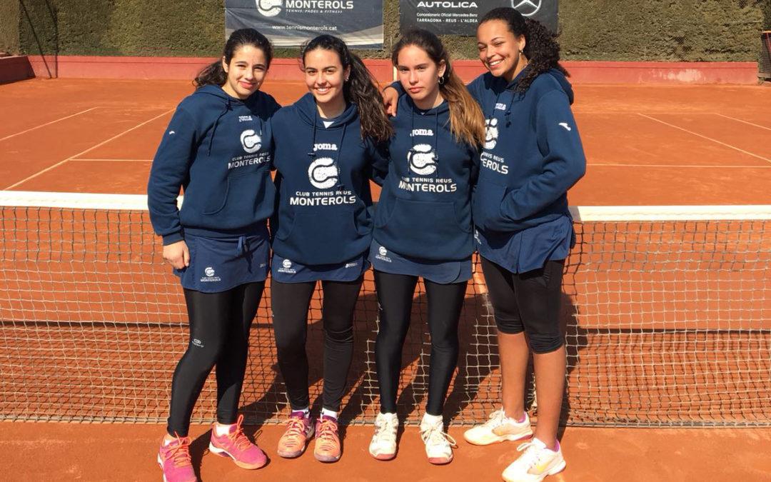 El Cadet Femení es proclama sots-campiones de Catalunya en la categoria Or