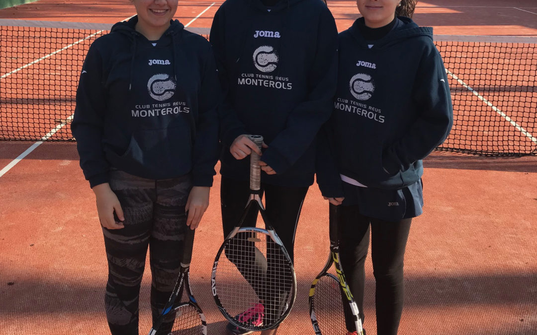 L'Infantil Femení empata a 2 contra el CT El Catllar en la Lliga Catalana de tennis