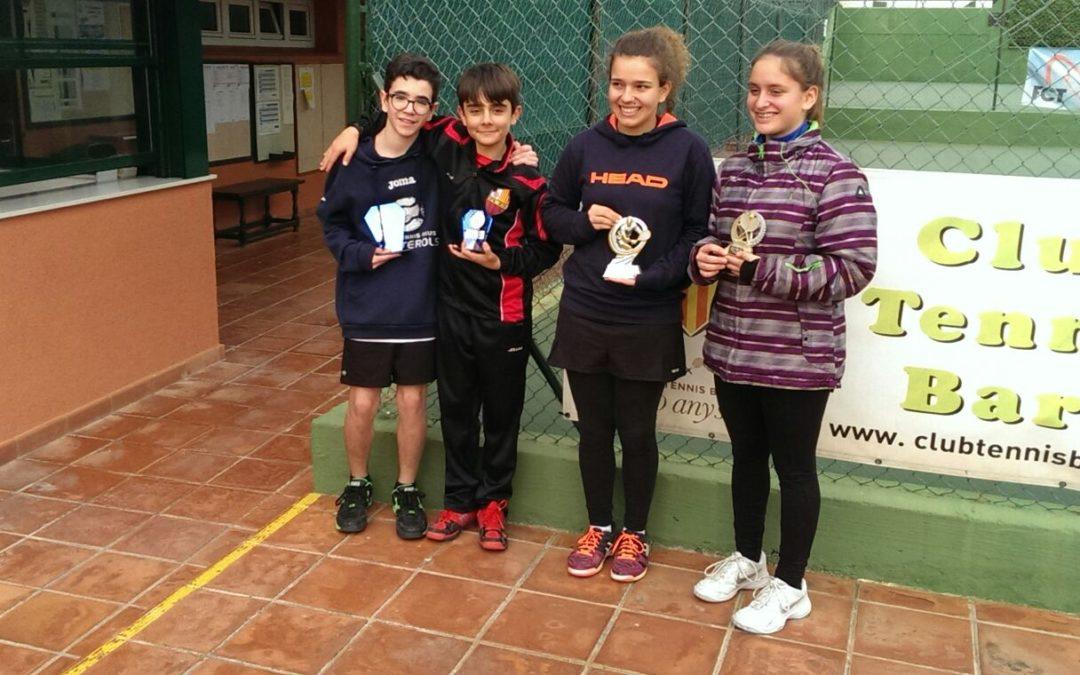Pau Basora guanya el quadre 2 del campionat Head Promeses en categoria infantil masculí