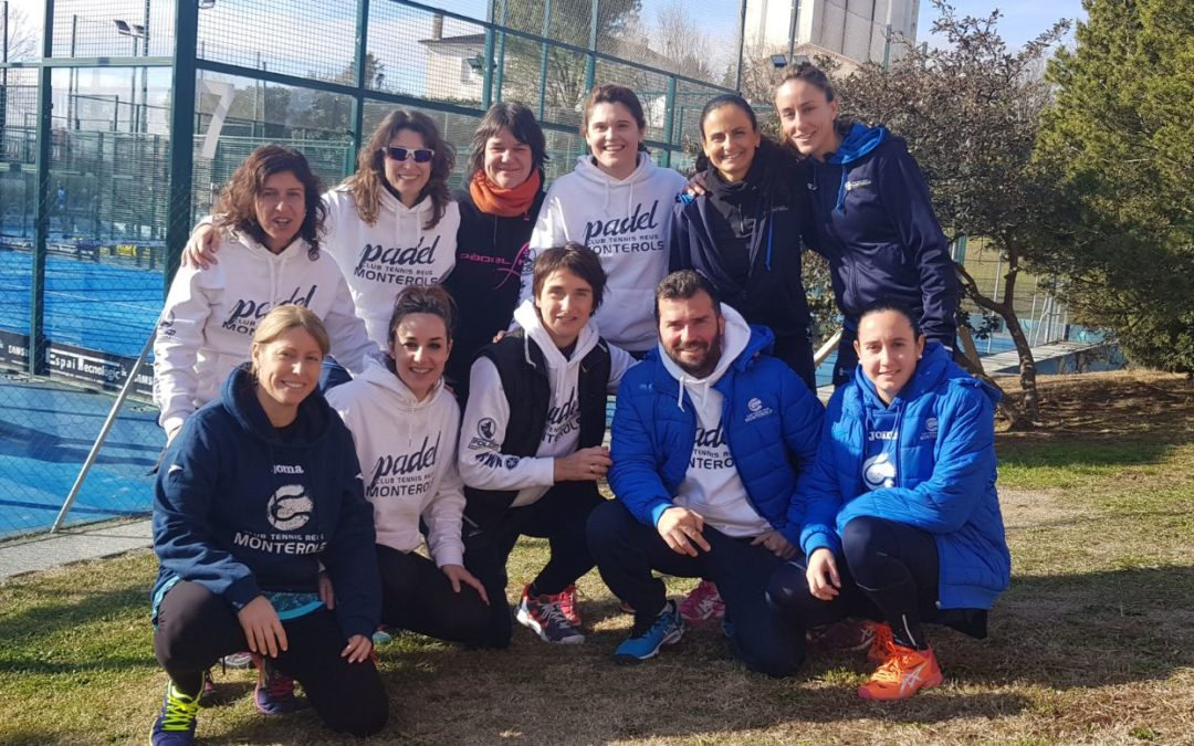 L'equip de pàdel femení del Monterols aconsegueix l'ascens a segona categoria