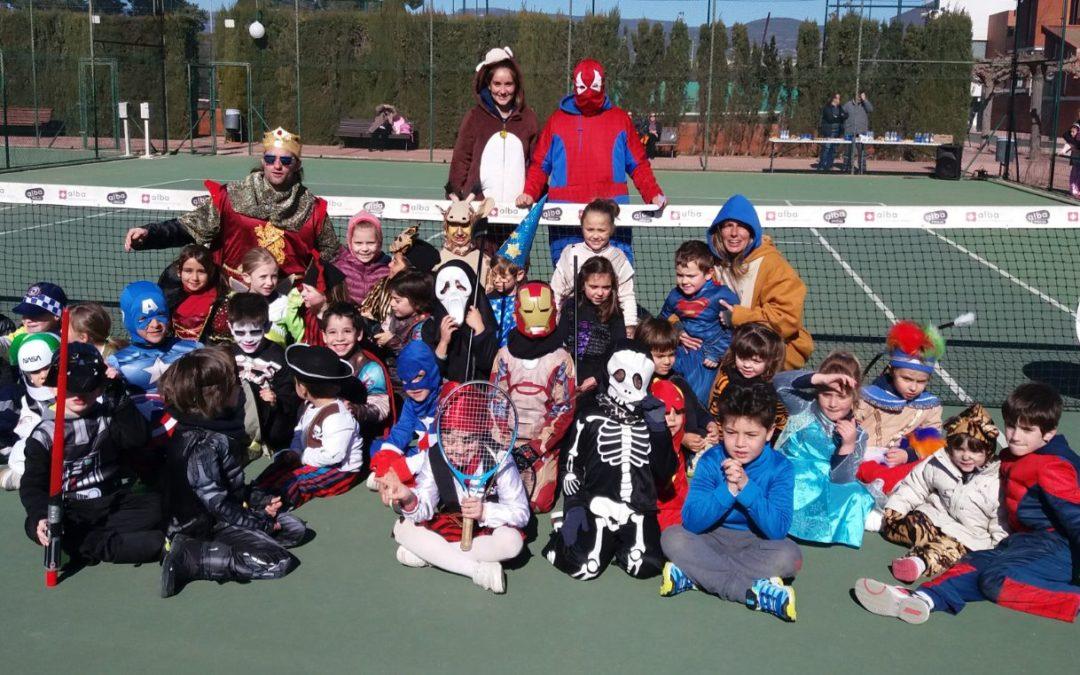 Celebrem el Carnaval a l'escola de tennis