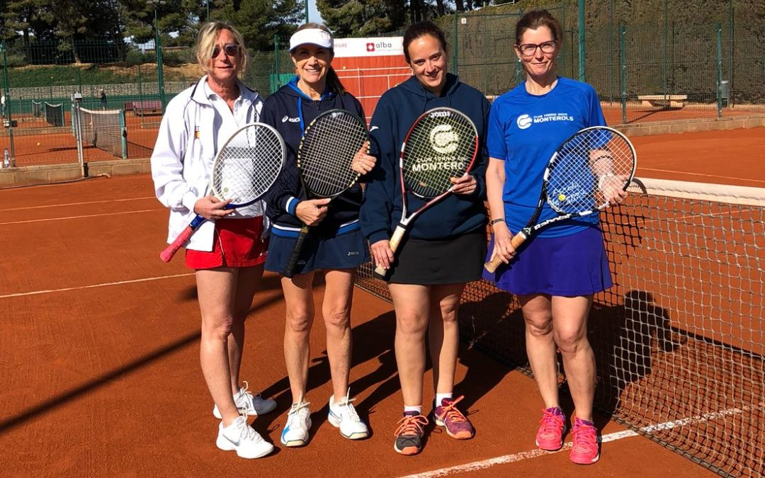 Derrota del sénior +30 femení davant el CT Barà en el Campionat Interclubs de Dobles de tennis