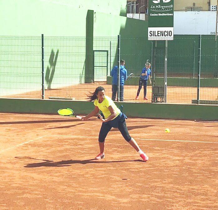Bons resultats de Leire Fernández al Catalunya Absolut i al Nacional sub15 de tennis