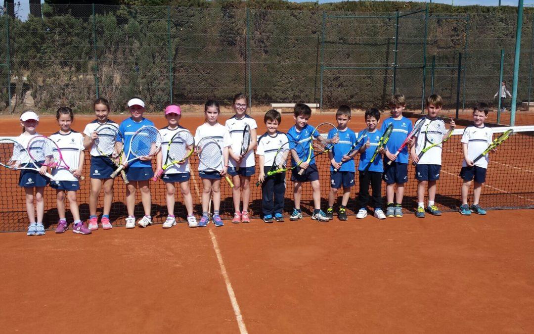 Gran èxit de l'amistós dels pre-benjamins contra el Tennis Tarragona