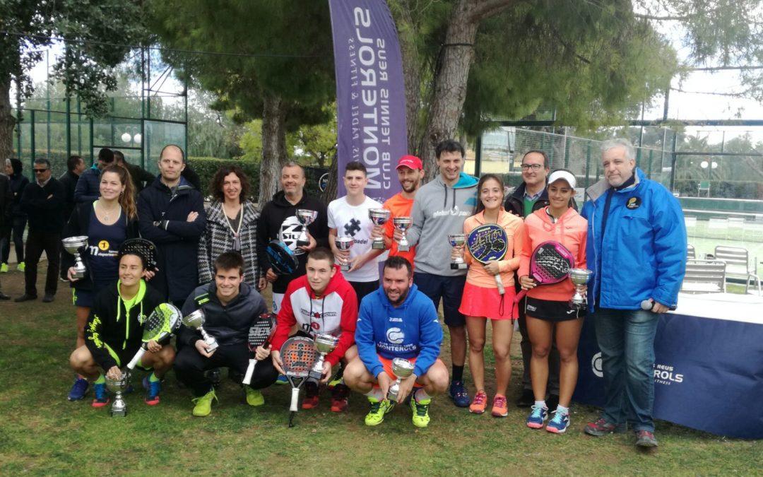 Figuerola-Gauna i Visotto-Bellver, campions provincials de pádel