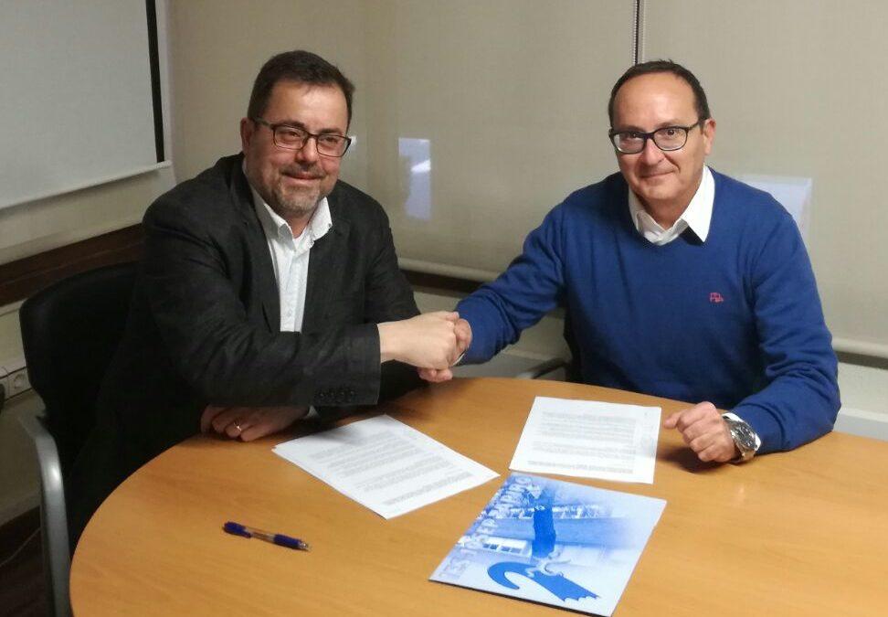 El Club Tennis Reus Monterols i l'INS Josep Tapiró signen un conveni de col·laboració