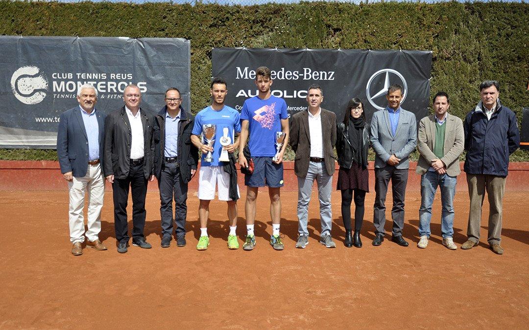 El Club Tennis Reus Monterols acull la XIX edició del Torneig Internacional de tennis ITF Future Autolica Mercedes Benz
