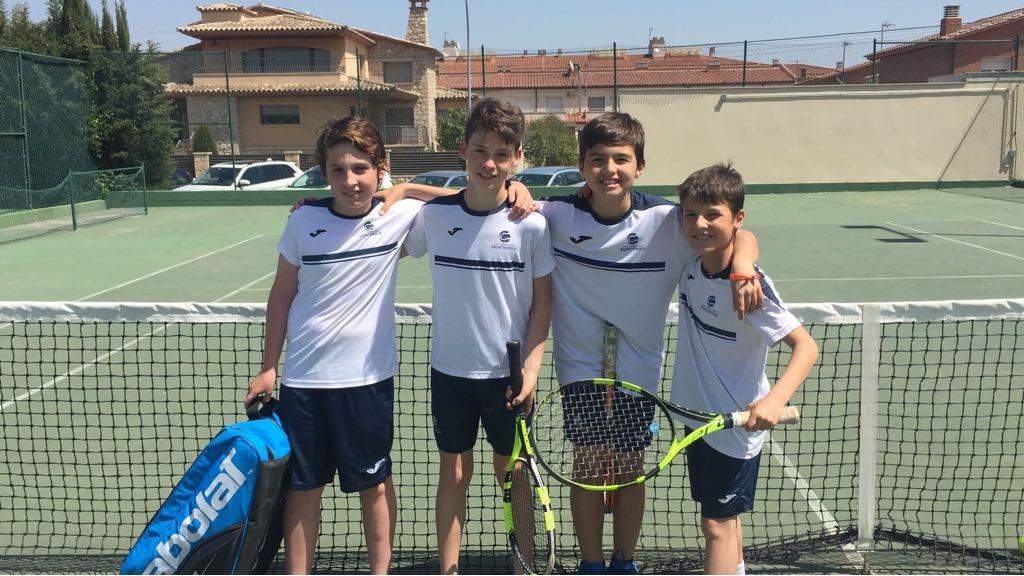 Victòria a la Lliga Catalana de l'Aleví Masculí en la seva visita a Montblanc