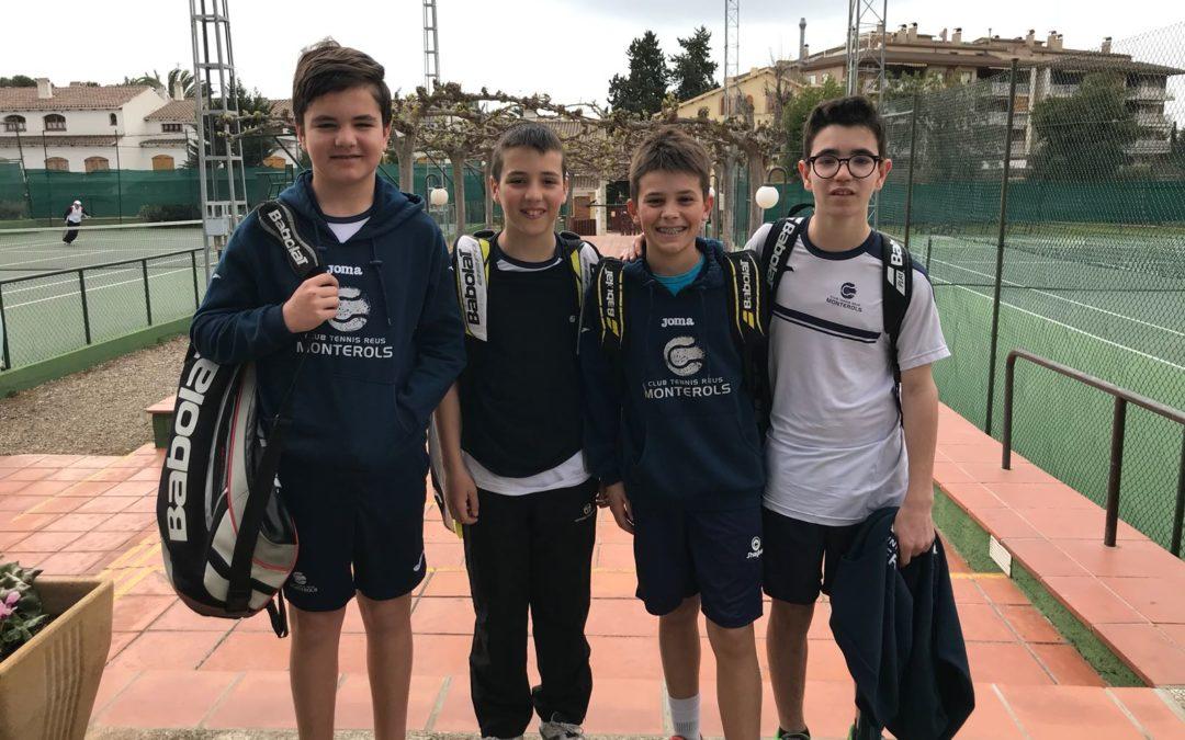 Victòria de l'Infantil Masculí B contra el CT Barà en la Lliga Catalana de tennis