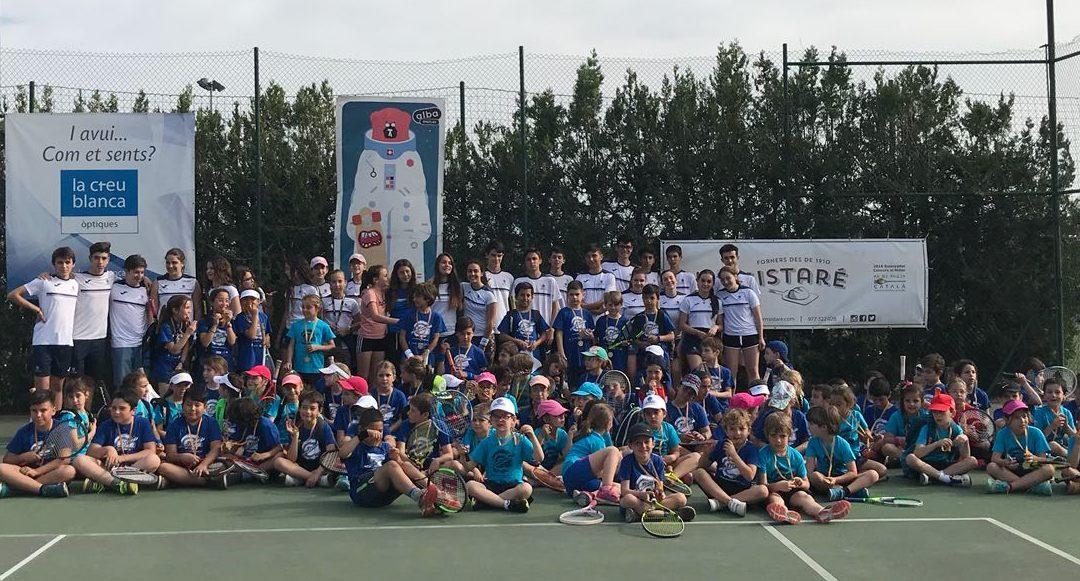 Trobada de minitennis al Club Tennis Reus Monterols