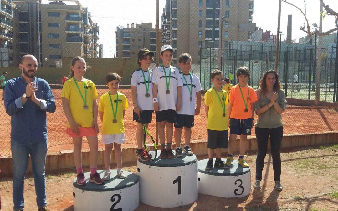 Tercera jornada del Jocs Esportius Escolars de tennis