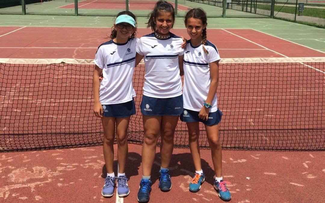 Es disputa la fase final de la Lliga Catalana de Tennis amb bons resultats dels nostres equips