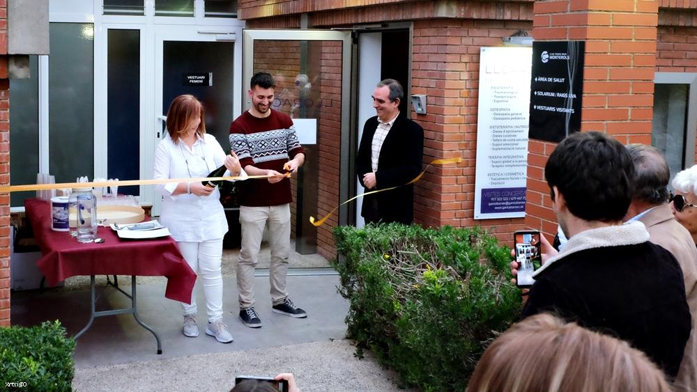 Inauguració del nou Espai de Salut del Monterols