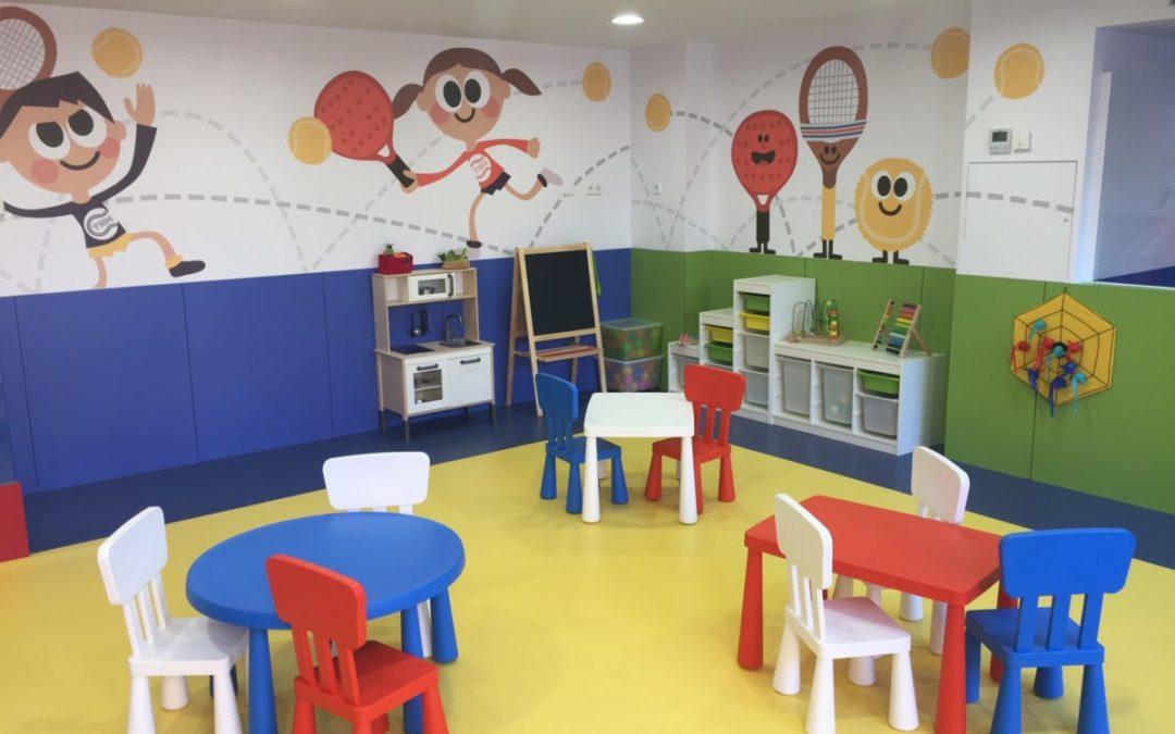 El Club Tennis Reus Monterols ja disposa d'un nou espai infantil per als més petits del Club