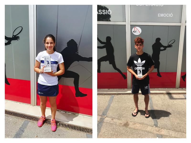 Angela Pérez i Jordi Garcia, campions cadets del Circuit Juvenil d'Hivern de la FCT