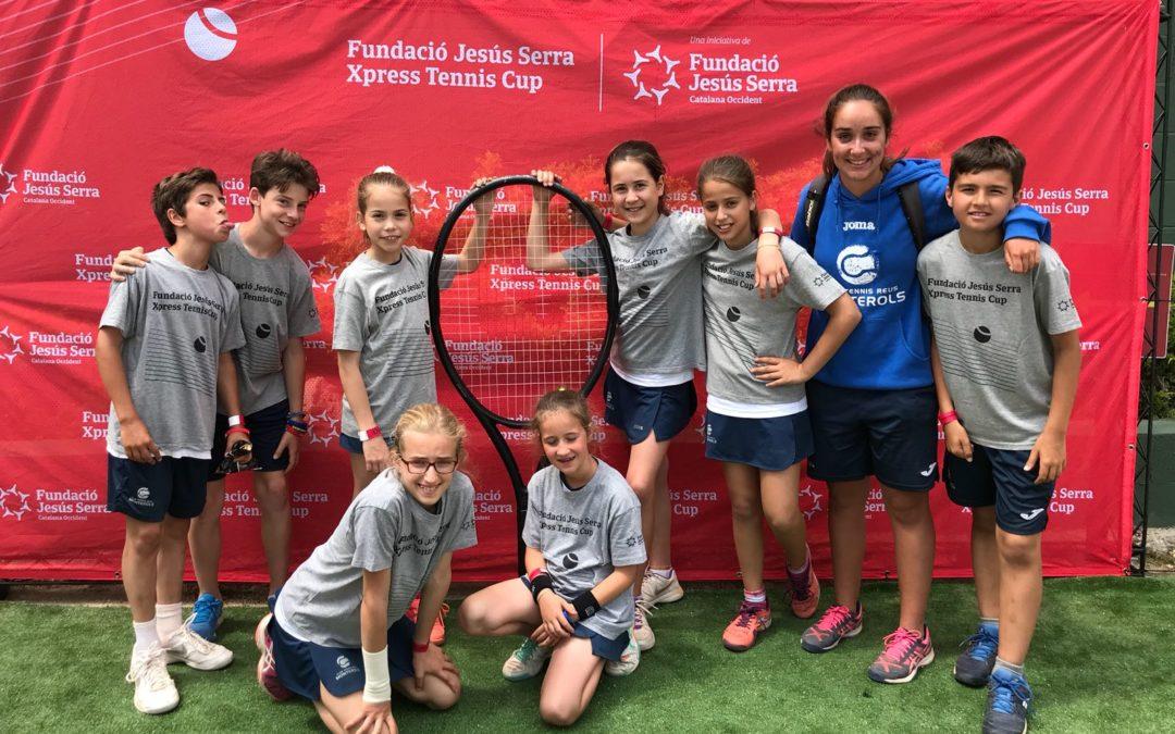Els equips sub 12 masculí i femení participen a la Xpress Cup de tennis al Cercle Sabadellès