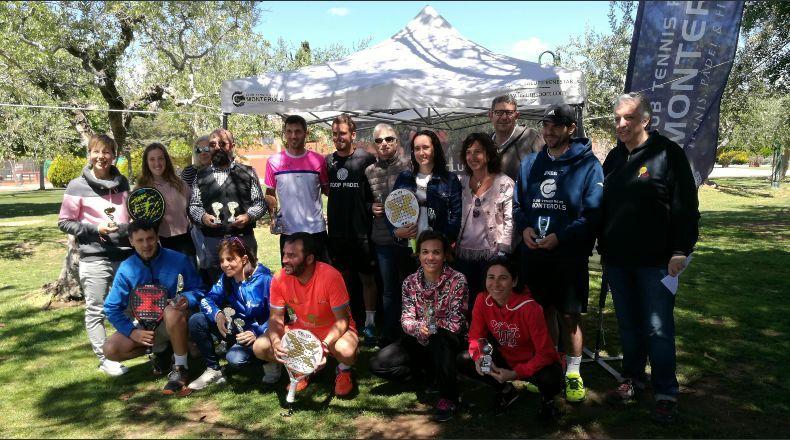 Greco-Ferrini i Fuentes-Casanova, campions del Torneig Bronze de Pàdel del Monterols