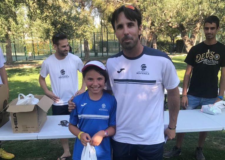 Festa de final de curs de l'escola de competició de tennis del Monterols