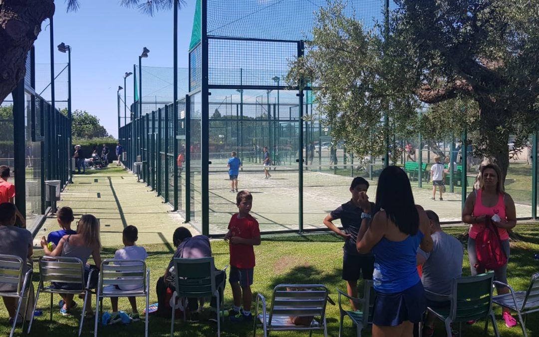 Es disputa el campionat Burguer King de Pàdel de menors al Club Tennis Reus Monterols