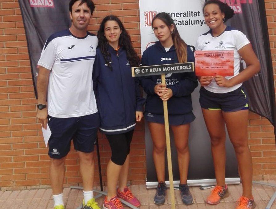 Finalitza el Campionat Provincial de tennis per equips amb el Monterols finalista en 5 de les 6 finals