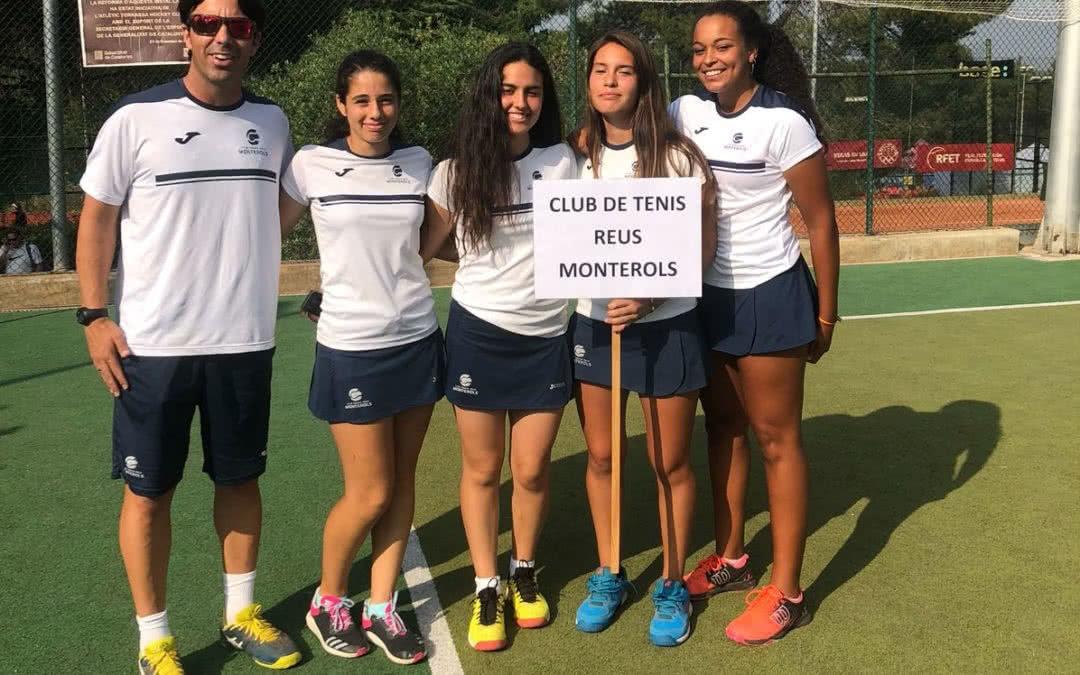 L'equip cadet femení disputa el Campionat d'Espanya Cadet per equips