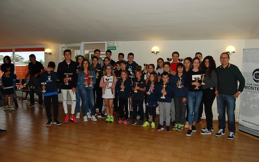 Galeria d'imatges de l'entrega de premis del Campionat Social per categories Juvenils