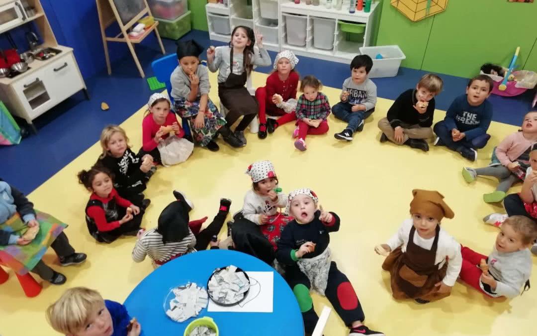 Celebrem la festa de la Castanyada a l'Espai Infantil del Monterols