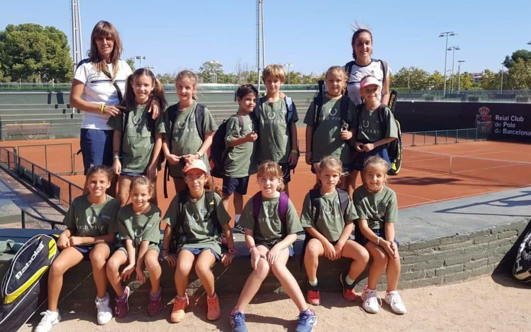 Els equips de tennis del Monterols disputen la primera fase del torneig Mini Cup al RC Polo de Barcelona