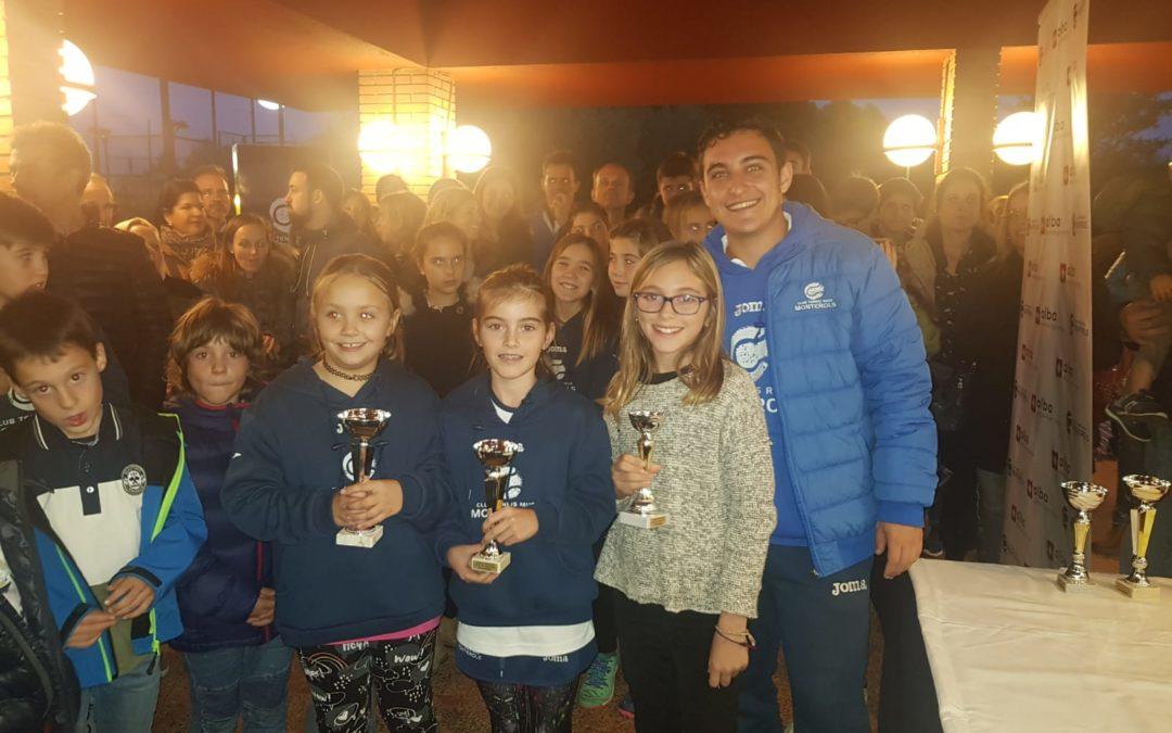 Finalitza el torneig Americana de l'escola de tennis amb l'entrega de premis i una xocolatada