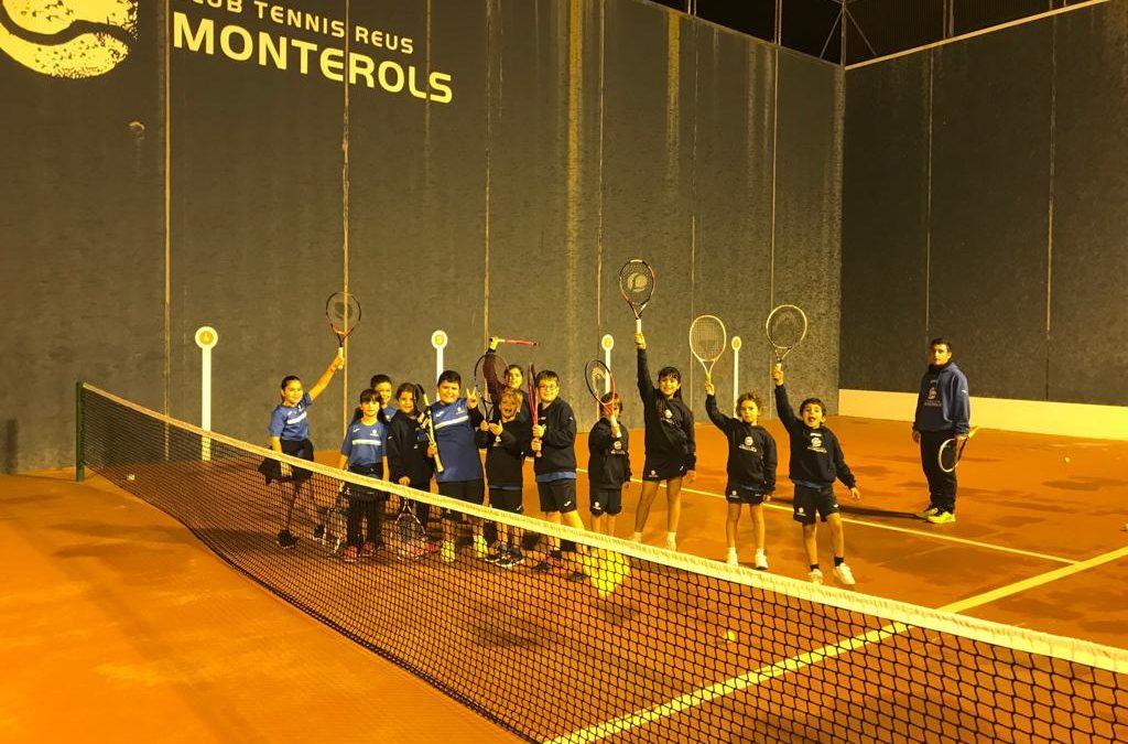 Nou equipament per a l'escola de tennis