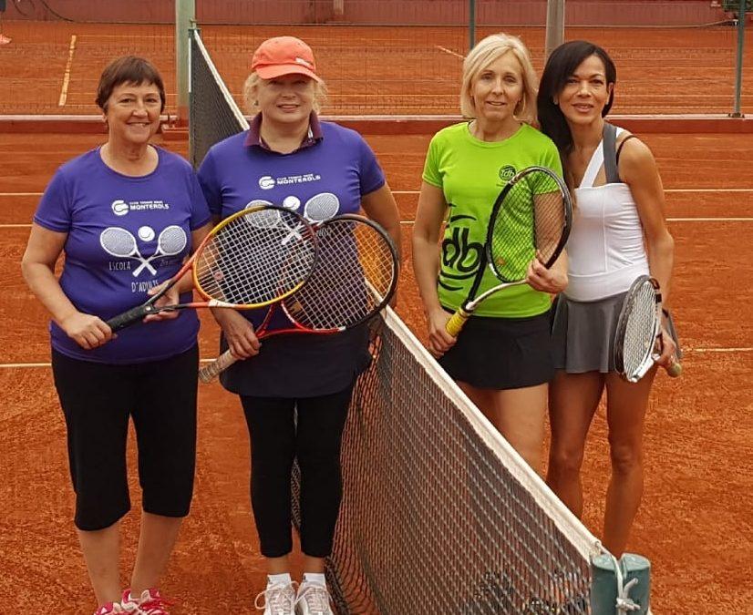 L'equip +30 femení no pot superar al CT Torredembarra en el Campionat Interclubs +30 femení