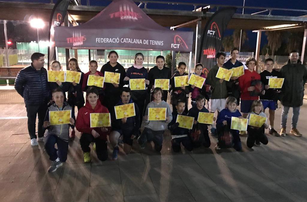 Es disputen les finals del Campionat Provincial Individual i Dobles per categories juvenils