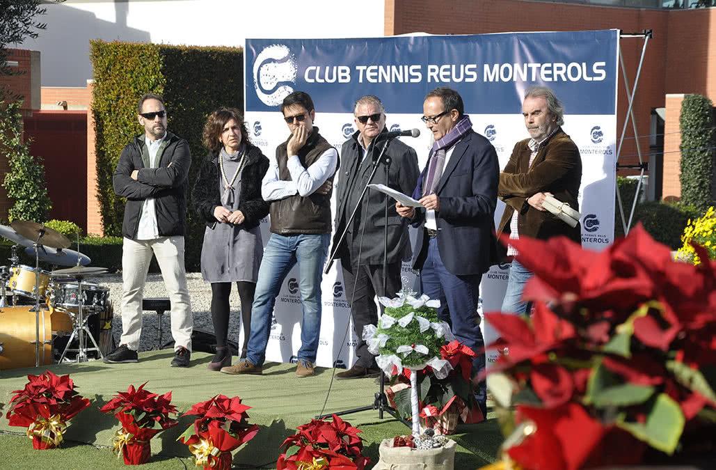 El Club Tennis Reus Monterols celebra el Vermut Social de Nadal amb una cursa solidària per la Marató de TV3