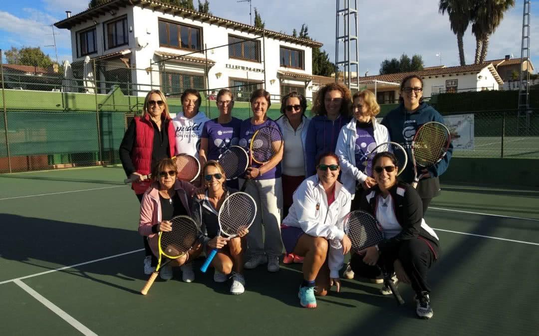 L'equip femení +30 s'imposa al CT Barà en el Campionat Interclubs +30 de dobles femení