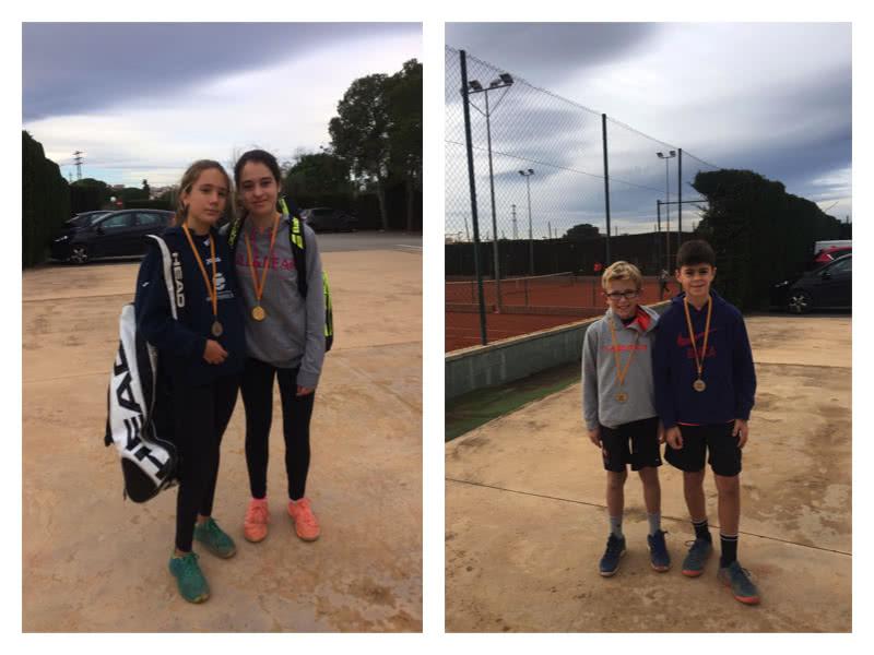 Resultats del Head Promeses de tennis disputat al Reus Deportiu