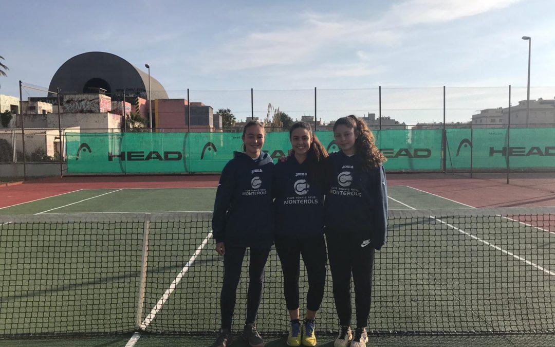 Gran victòria de l'Absolut Femení contra el CT Cubelles en la Lliga Catalana de tennis