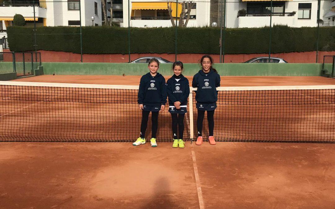 Empat a dos del Benjamí Femení contra el CT Tarragona en la Lliga Catalana de tennis