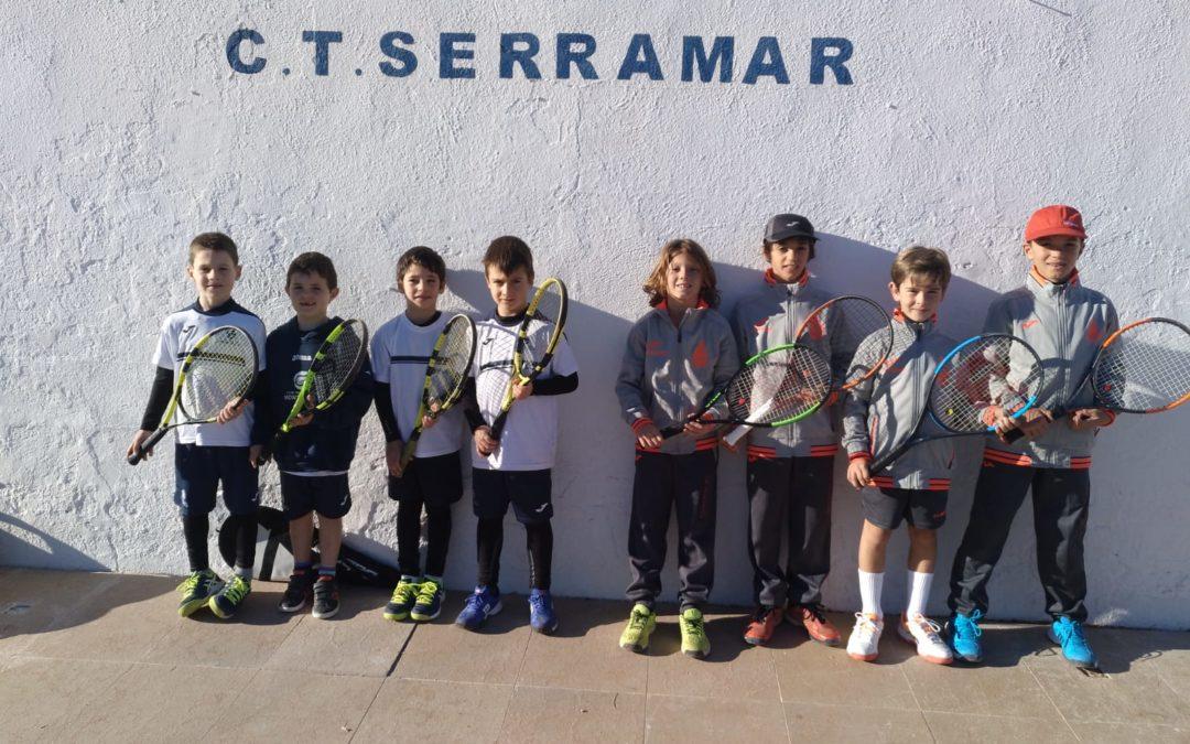 El Benjamí Masculí perd a casa del CT Serramar en la Lliga Catalana de tennis