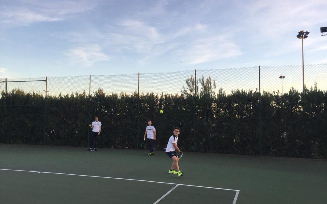 Es disputa la primera jornada dels Jocs Esportius Escolars al Club Tennis Reus Monterols