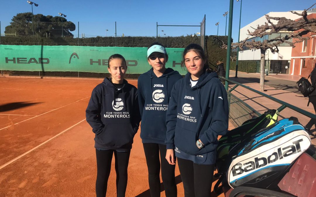L'infantil femení B es desfà de manera contundent del CT Torredembarra per 4 a 0 en la Lliga Catalana de tennis