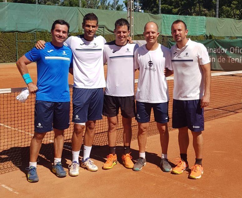 L'equip Sénior +40 Masculí a les semifinals del Campionat de Catalunya per equips de tennis categoria Or.