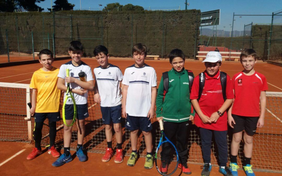 L'Aleví Masculí A del Monterols guanya al CT Tarragona B per 5 a 0 en l'enfrontament de la Lliga Catalana de tennis