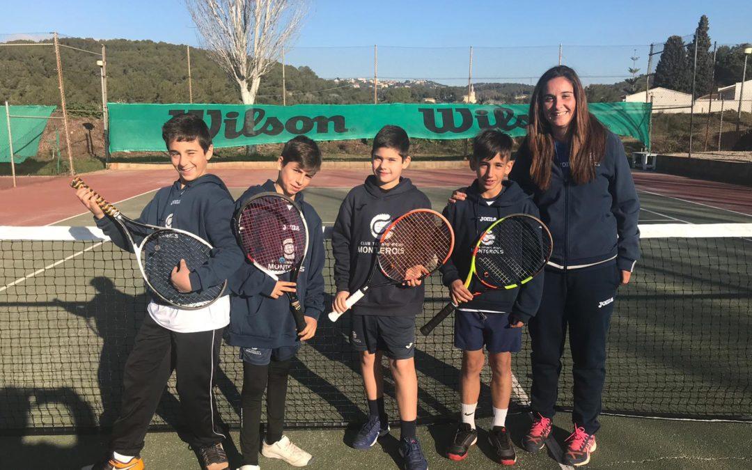 Derrota per 4 a 1 del Aleví Masculí B en la Lliga Catalana de Tennis
