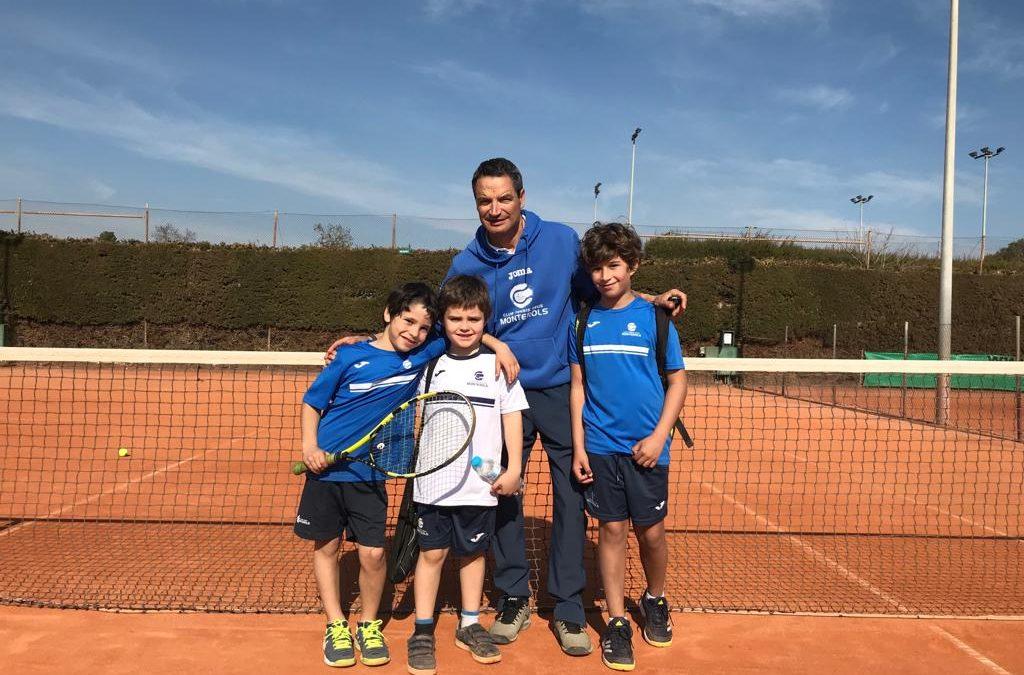 Victòria contundent del Benjamí Masculí B en imposar-se al CT Valls en la Lliga Catalana de tennis per 0 a 5