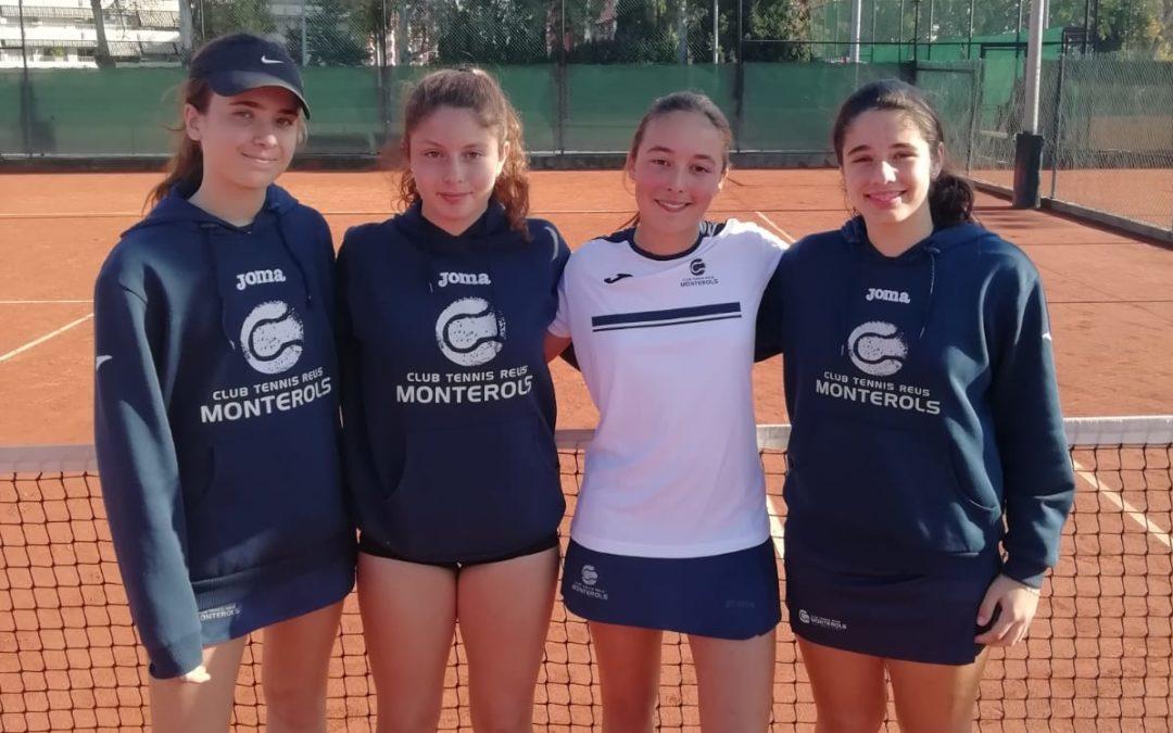 L'equip Cadet Femení jugarà les semifinals del Campionat Catalunya per equips a casa del CT Barcino