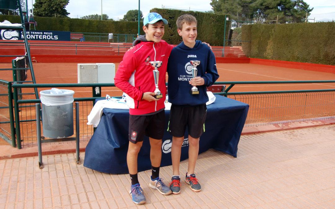 Finals de la Copa Catalunya de tennis del Monterols