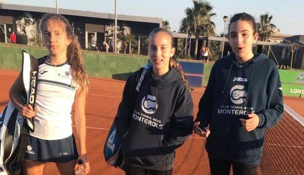 Derrota de L'infantil Femení B contra el CE Johny Montañés en la Lliga Catalana de tennis