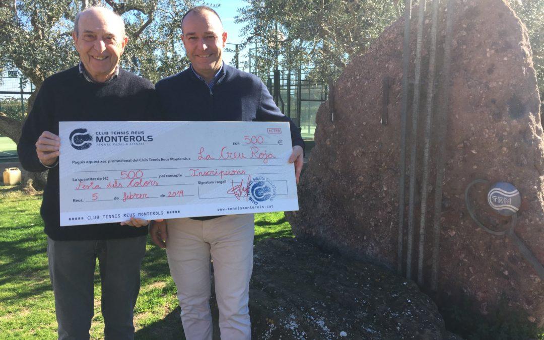 El Club Tennis Reus Monterols col·labora amb La Creu Roja de Reus